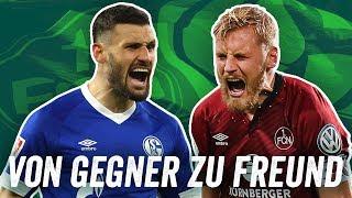 Schalke 04 & FC Nürnberg!  Hertha & KSC! FC Bayern und VfL Bochum! Deutschlands Fanfreundschaften!