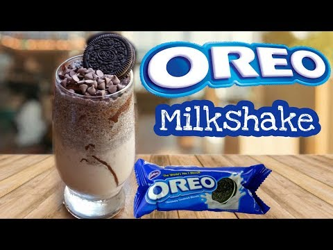 Oreo Milkshake Without Ice Cream | How To Make Oreo Milkshake