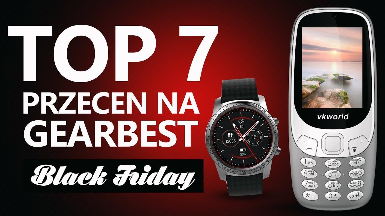 Top7 Okazji Cenowych na GearBest – Black Friday 2017 :)
