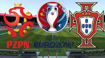 POLEN vs. PORTUGAL | VIERTELFINALE | EURO 2016 FRANKREICH ◄EM #27►