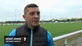 Leamington 0-4 Salford City - Anthony Johnson post-match interview