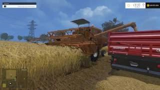 Link: https://www.modhoster.de/mods/bizon-zo56-red-mit-kabine#description  http://www.modhub.us/farming-simulator-2015-mods/bizon-zo56-red-with-cabine-v2-0/