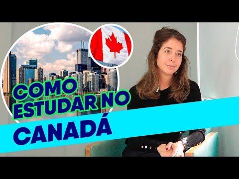 COMO ESTUDAR NO CANADÁ   Estudar Fora E Guia Do Estudante