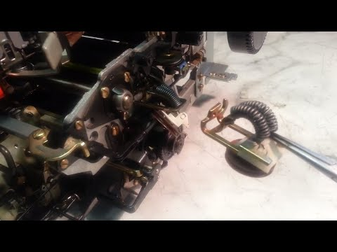 IBM Selectric Typewriter Transport Pulley and Tab Return Cords Replacement Wind Mainspring Version 2