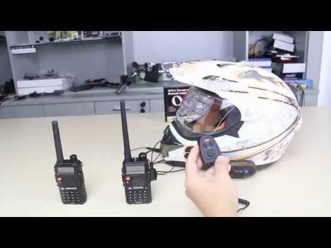 Motorcycle / Bicycle Bluetooth Audio & GPS Two-Way Radio Adaptor