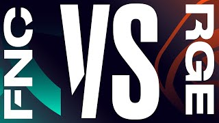 FNC vs. RGE - Week 8 Day 2   LEC Spring Split   Fnatic vs. Rogue (2020)