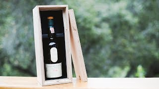 Making a Whiskey Presentation Case with Shaper Origin