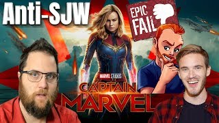 Hilarious Anti-SJW Captain Marvel Fails!