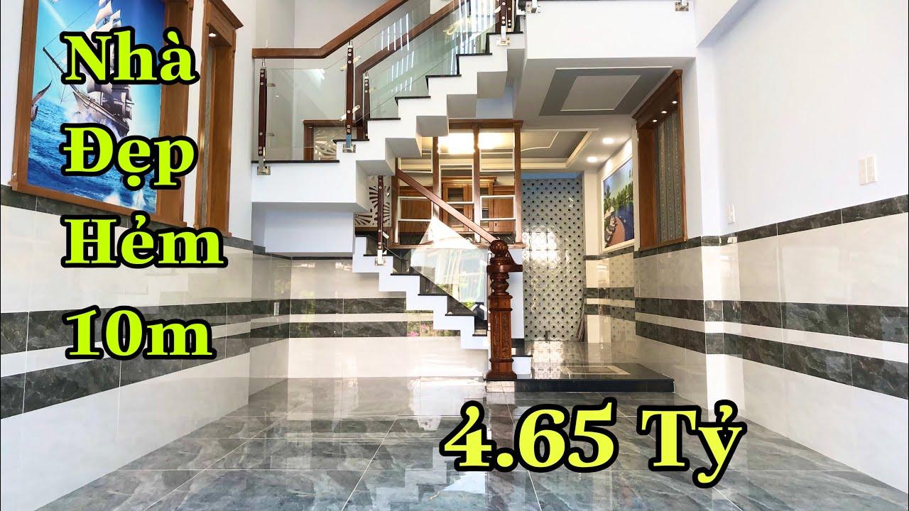 Bán nhà quận 12 |Nhà đẹp đường lê văn khương 4.2x15m đúc 3 lầu , hẻm 10m, giá rẻ bèo nhèo 4.65 tỷ TL