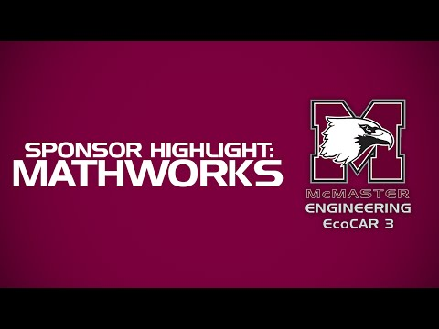 How MathWorks is Accelerating Success for McMaster Engineering at EcoCAR 3