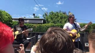 All Time Low - Cinderblock Garden (Acoustic) - 6/3/17 - Baltimore, MD