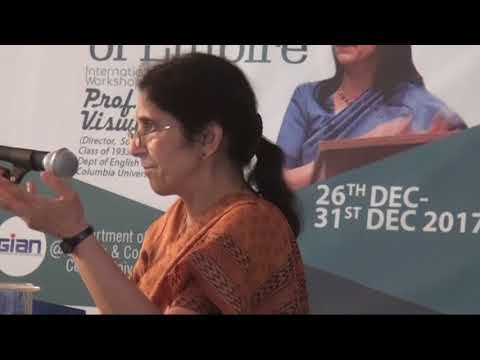 """Cultures of Secrecy, Literary Imagination & Empire""- Prof. Gauri Viswanathan"