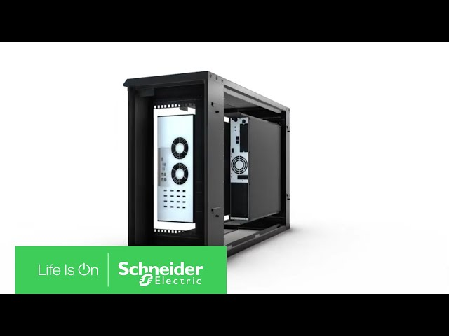 Meet the 6U Wall Mount Micro Data Center | Schneider Electric