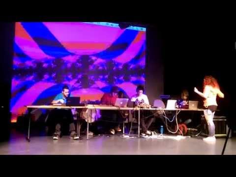 Staffs Uni Creative Music Technology Undergraduate Students Interactive Digital Performance