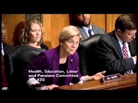 Senator Elizabeth Warren - The Role of Consumer Information in College Choice