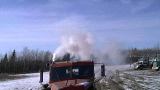 262 Cummins Pull Start on a Cold Day