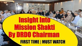 DRDO Chairman Dr G Sateesh Reddy Shares Insight Into Mission Shakti