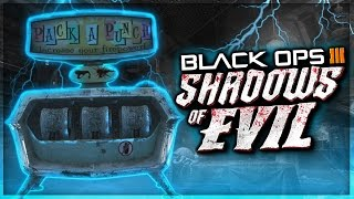 "Black Ops 3 ""PACK A PUNCH"" Location & How To Complete ALL ""Rituals"" Shadows Of Evil (BO3 Zombies)"