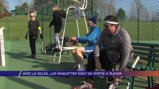 Yvelines | Avec le soleil, les raquettes sont de sortie à Plaisir