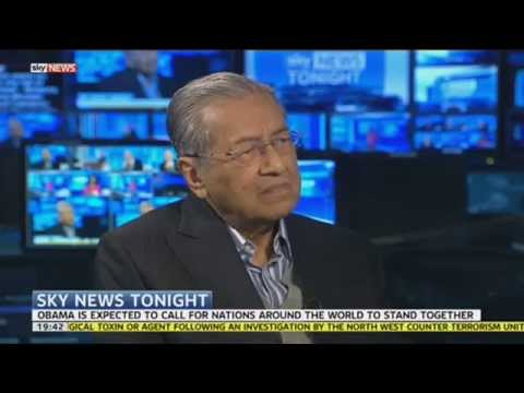 Former Prime Minister Of Malaysia On Global Terrorism