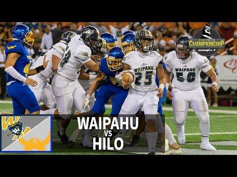 Marauders bring it home to 94 block | SL Replay | Waipahu vs. Hilo (Nov. 24, 2018)