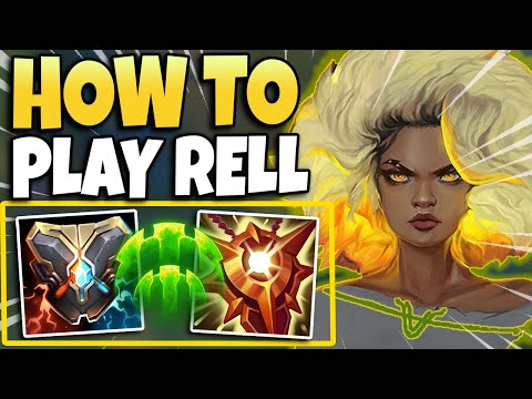 IS RELL A BROKEN SUPPORT? RANK 1 TELLS ALL ON RELL GAMEPLAY – League of Legends