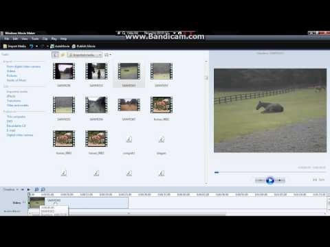 How To Make A Video In Reverse Using Windows Movie Maker