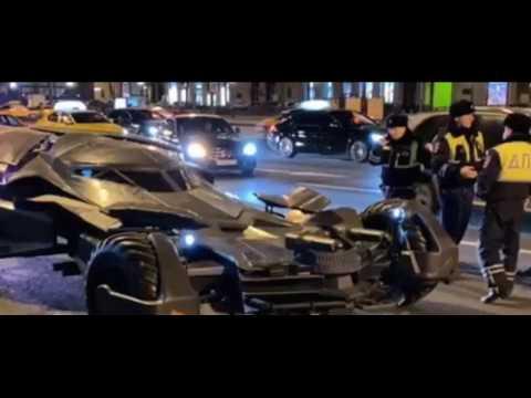 Сотрудники Госавтоинспекции Москвы изъяли у 32 летнего местного жителя самодельный «бэтмобиль».