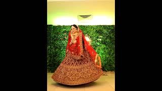 Bengali Hindu Bride in Lehenga! Bengali bride look Lehanga song :Jass Manak shorts
