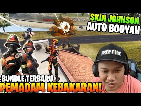 SKIN TERBARU PEMADAM KEBAKARAN! AUTO BOOYAH PANTANG MUNDUR! - Garena Free Fire