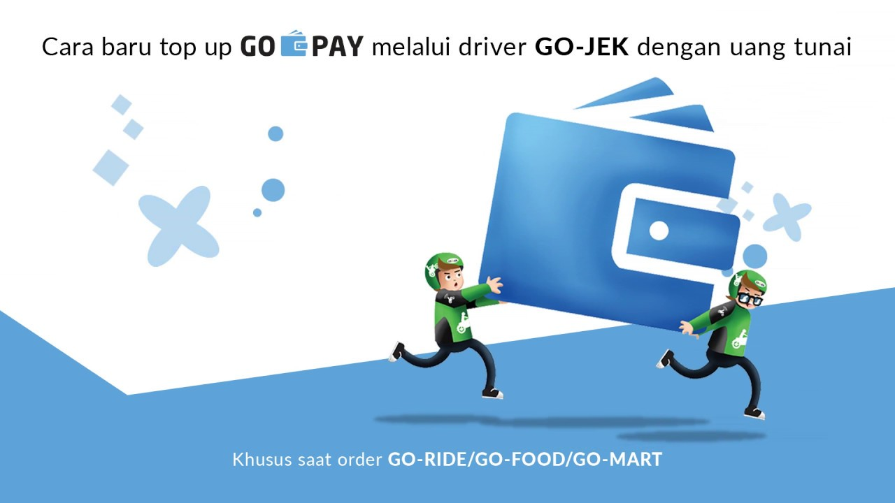 Cara Transfer Saldo GO-PAY Via Driver GO-JEK