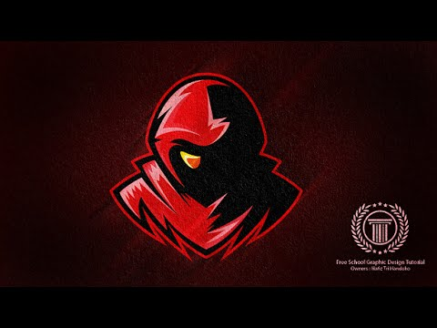Souvent Horror Gaming E-Sport / Sport Team Logo Design - Adobe illustrator  WG06