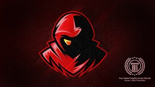 Horror Gaming E-Sport / Sport Team Logo Design - Adobe illustrator Logo Design Tutorial