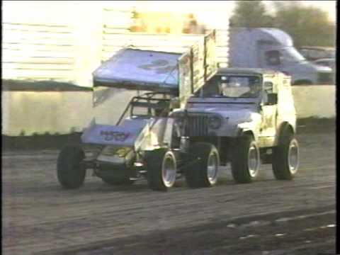 1992 Slick 50 Sprint Car World Series At Manzanita Speedway - (Week #1)