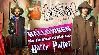 Baixar Fomos ao Halloween do Restaurante do Harry Potter, no Vassoura Quebrada   Colornicornio