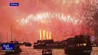 Happy New Year 2018! Celebrations around the World