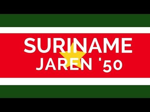 Suriname in foto's - jaren vijftig (2/2)