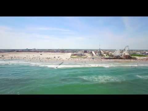 Beach Day June 26, 2016 Wildwood, NJ 4K