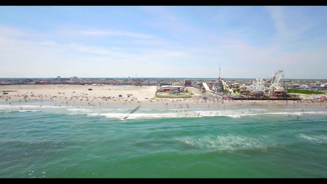 Beach Day June 26 2016 Wildwood Nj 4k