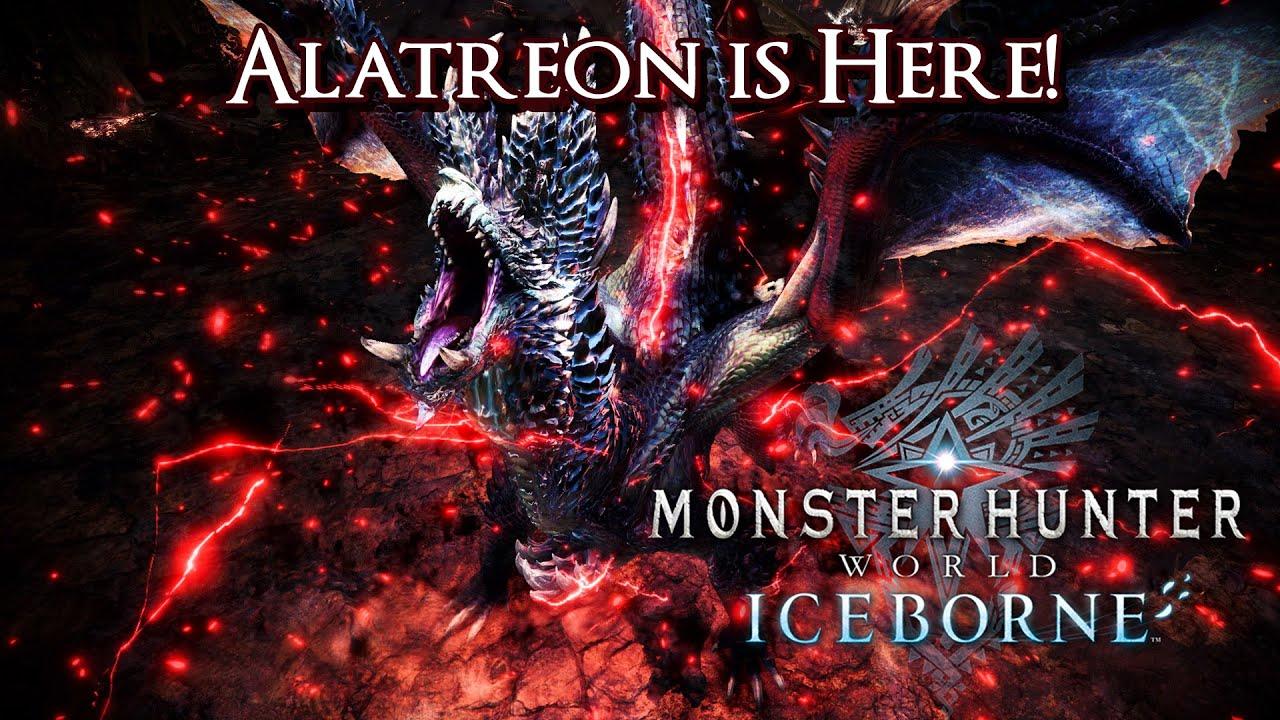 Monster Hunter World Iceborne Alatreon Is Here Youtube