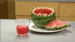 How To Make Watermelon Chip Sorbet Punch