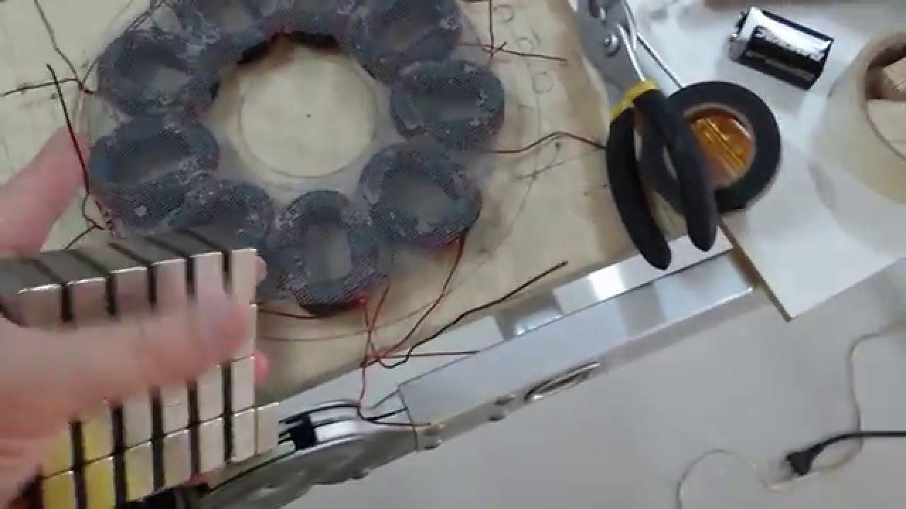 Basic Electronic Pulse Motor Bedini Style Youtube