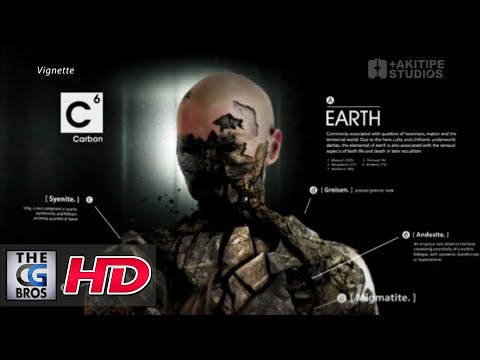 CGI VFX Breakdown HD : Discovery Science Ident, The Human Element by +AKITIPE STUDIOS