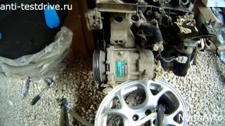 как снять генератор, насос гура и компрессор кондиционера с golf 4 мотор 1.6 AKL(В этом видео показываю как снять генератор, насос гура и компрессор кондиционера с golf 4 мотор 1.6 AKL. 8 клапанов..., 2014-06-04T21:08:49.000Z)