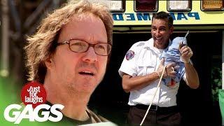 Paramedic Yanks Umbilical Cord
