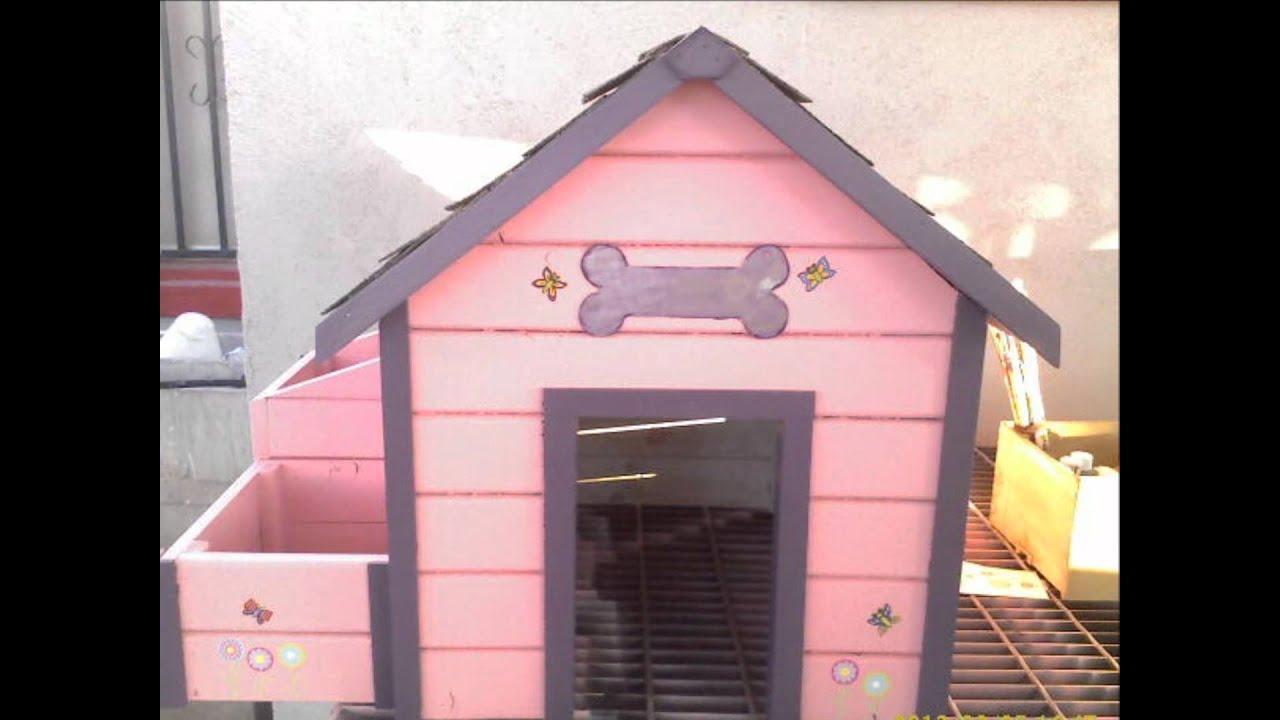 Casas de perro youtube for Casitas de madera