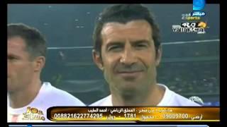 برنامج العاشرة| المعلق الرياضي أحمد الطيب:  علم مصر علي صدر أبوتريكة هو فخر للعرب ورسالة للعالم