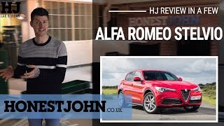 Car review in a few | 2019 Alfa Romeo Stelvio - a confusingly good, ugly Alfa...