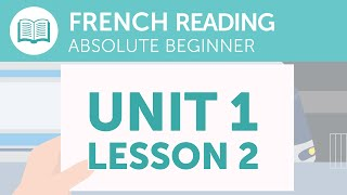 French Reading Comprehension - Reading Your Train Ticket