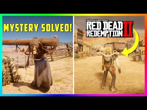 Solving The Mystery Of The Donkey Lady & Setting Her Free In Red Dead Redemption 2! (RDR2) thumbnail